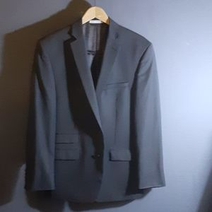 42R Joseph Abboud  grey wool 2 button blazer